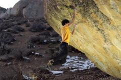 Toru Nakajima on Lucid Dreaming 8C Bishop CA UKC