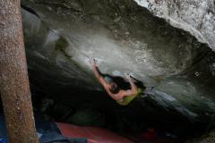 Dave MacLeod on Practice of the wild 8C Magic wood